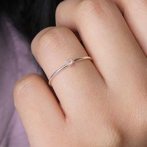 ✨NEW✨ Rose quartz solitaire ring | sterling silver